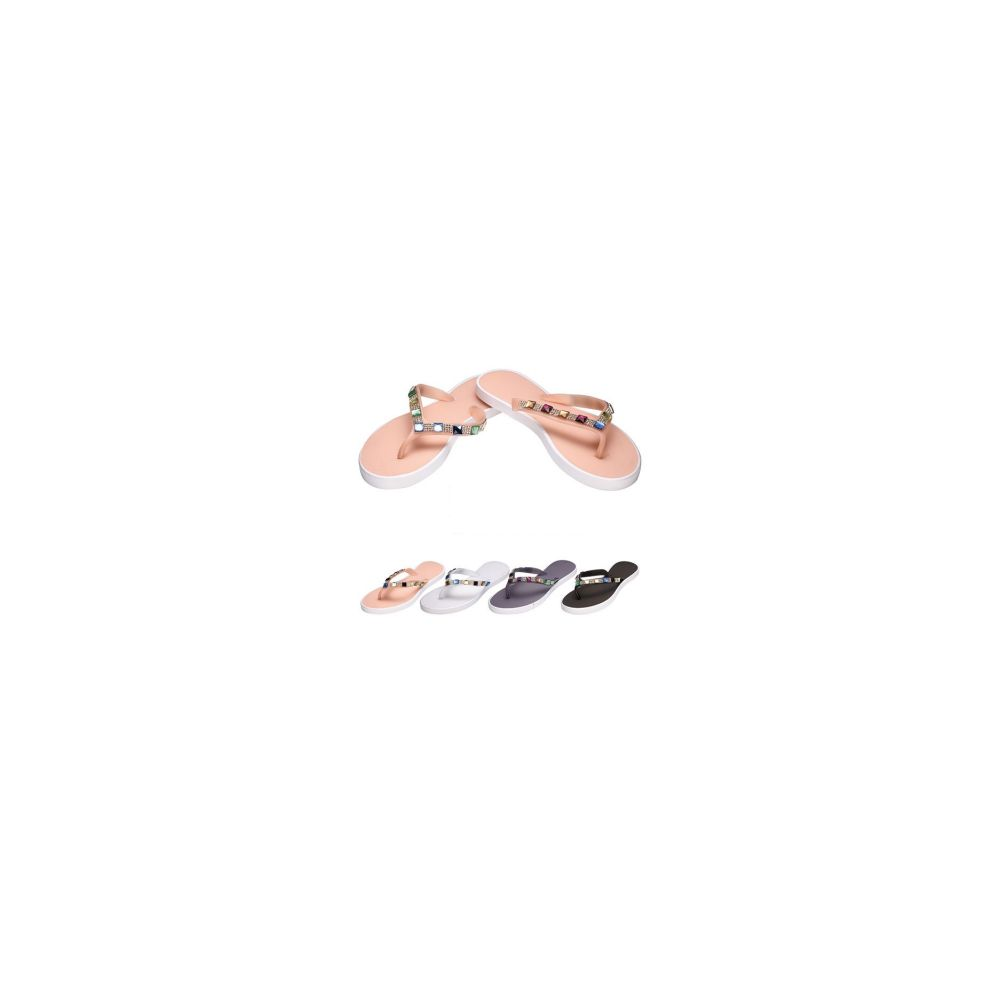 36 Units of Ladies Flip Flops-Jewel