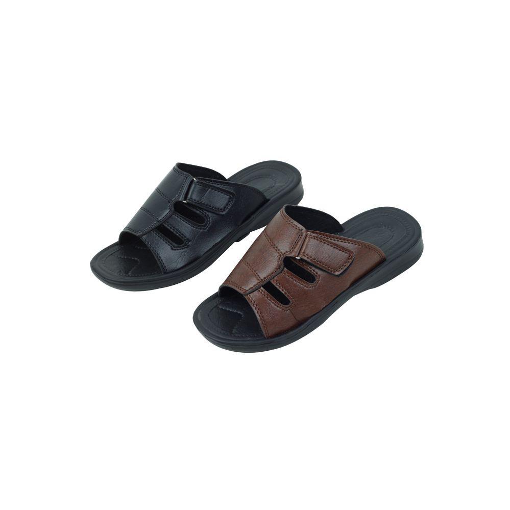 26efb49dc 36 Units of Mans Slide In Sandal Assorted Colors - Men s Flip Flops and  Sandals - at - alltimetrading.com