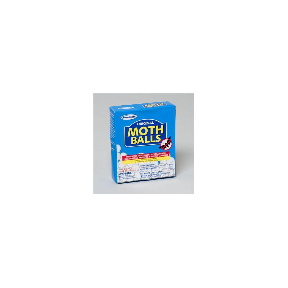72 Units of Moth Balls Boxed 4oz Original Home Bright