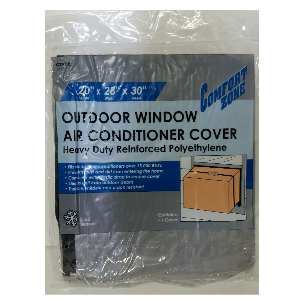 24 units of outdoor window air conditioner cover at for Window air conditioner covers exterior
