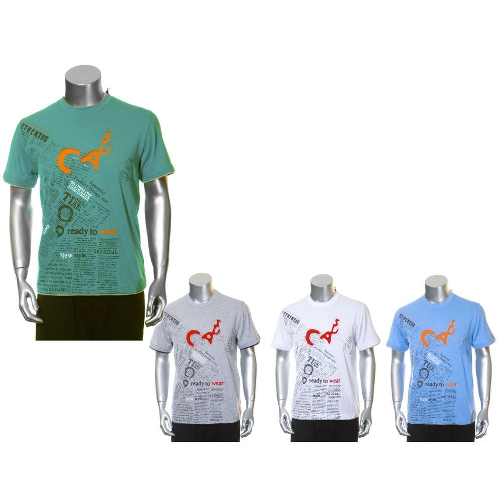 30 Units Of Mens Fashion Printed T Shirts Mens Shirts At
