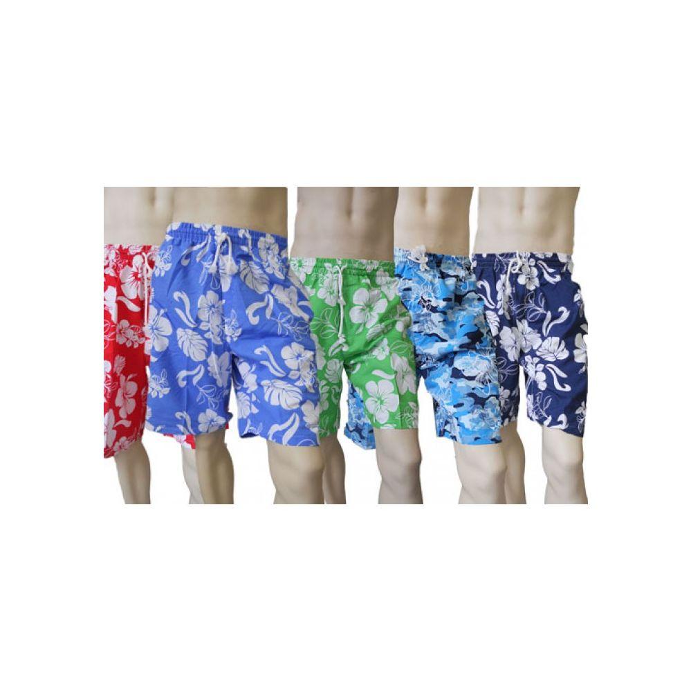 65398283e1 48 Units of MEN'S MICRO FIBER SWIM SHORTS - Hawaiian Print - Mens Bathing  Suits - at - alltimetrading.com