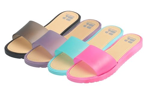 7ae4f6fb8 36 Units of Women s Slip On Slippers - Women s Flip Flops - at ...