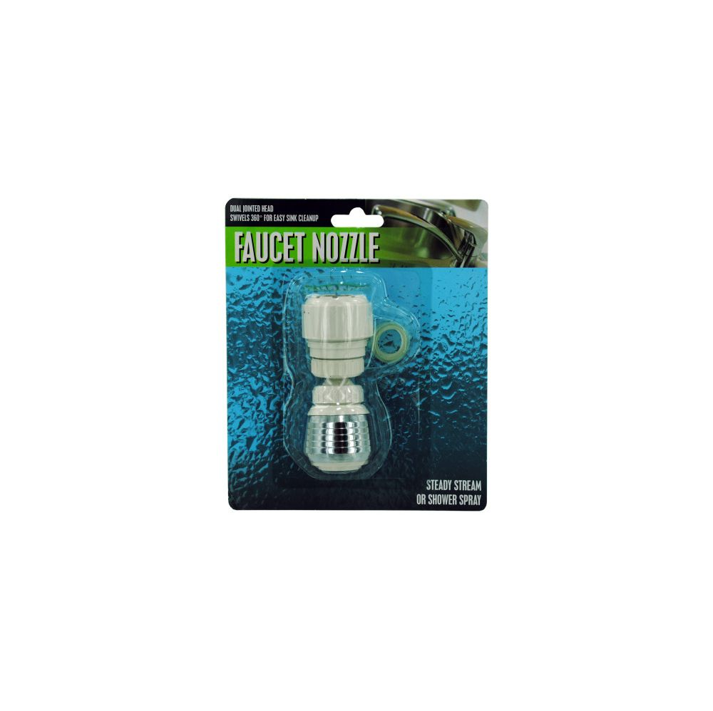 72 Units of Dual Jointed Faucet Nozzle