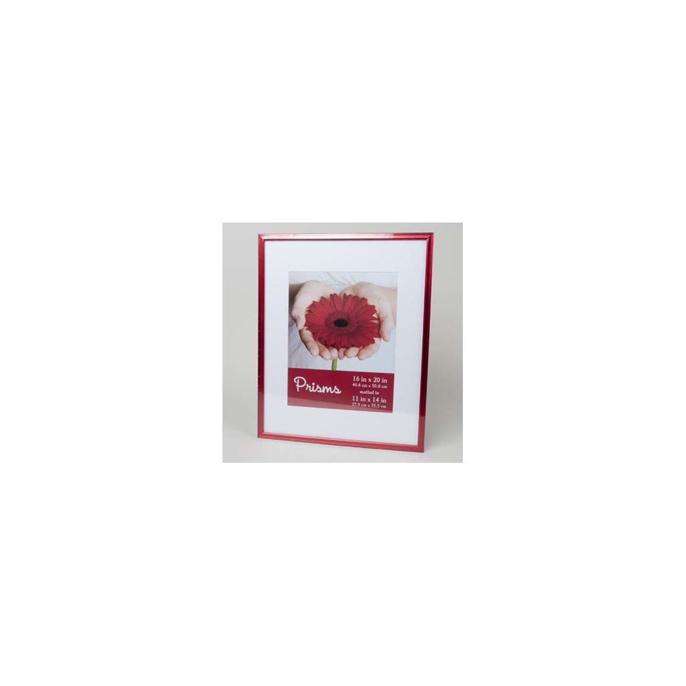12 units of photo frame 16 x 20 vivid red matted 11 x 14 at. Black Bedroom Furniture Sets. Home Design Ideas
