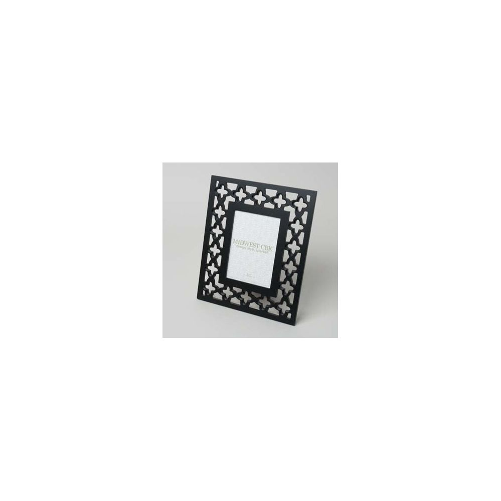 24 Units of Frame Black Carved Geometric Mdf 10 X 12 W/5 X 7 Opening ...