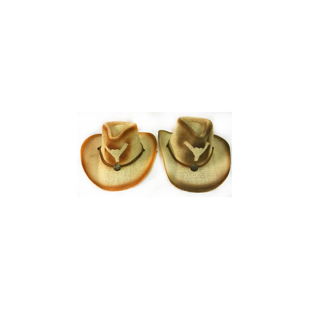 c5b9ceeb1f182 36 Units of Wholesale Mesh Cowboy Hat with Bull Horn and Medallion Assorted  - Cowboy   Boonie Hat - at - alltimetrading.com