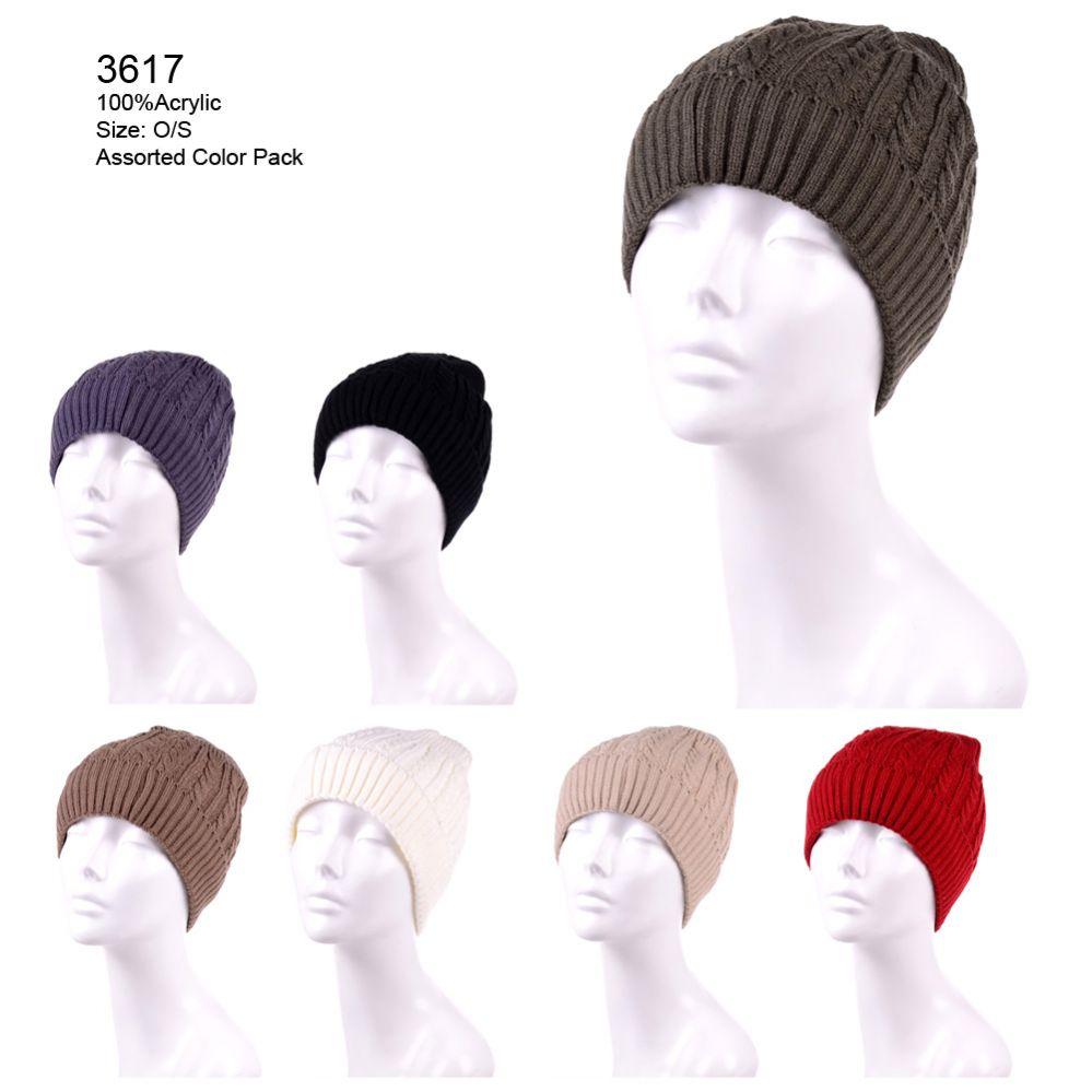 6a2b2e6fa08b38 24 Units of Womans 100% Acrylic Winter Hat - Fashion Winter Hats - at -  alltimetrading.com