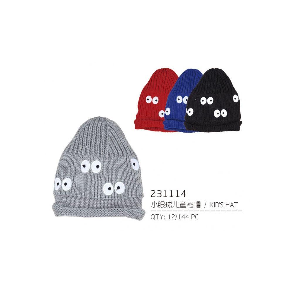 72 Units of Assorted Color Children s Hat - Junior   Kids Winter Hats - at  - alltimetrading.com 9008e7a42dd