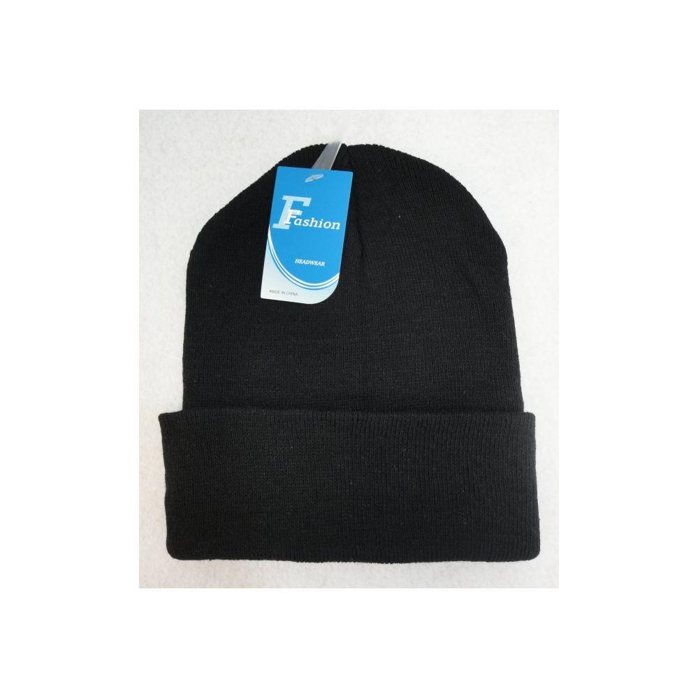24 Units of Black Only Toboggan - Winter Beanie Hats - at -  alltimetrading.com 7f95d3df6d69