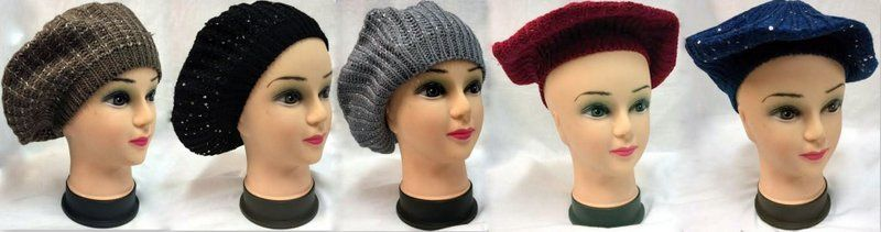 ba4398f2d9f 36 Units of Wholesale Knitted lady hat - Junior   Kids Winter Hats ...