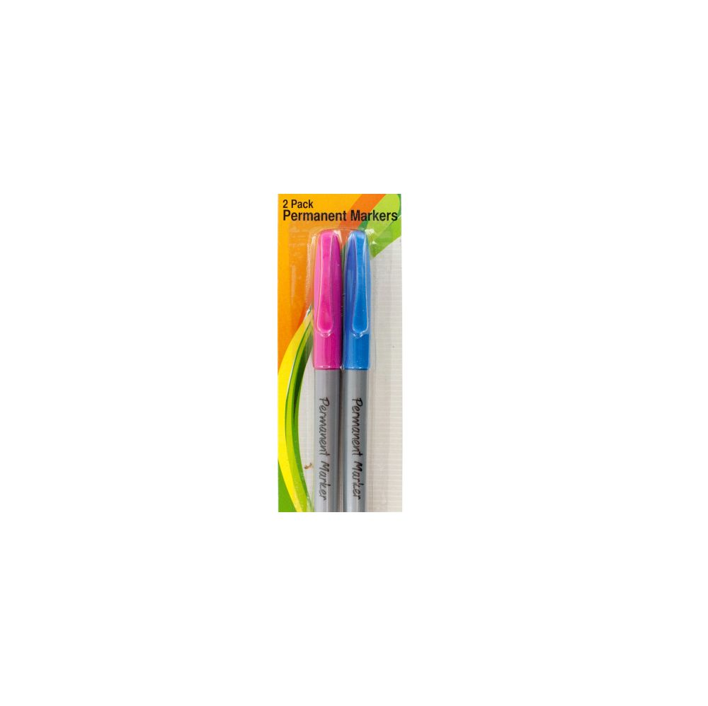 72 Units of Colored Permanent Markers Set - MARKERS/HIGHLIGHTERS