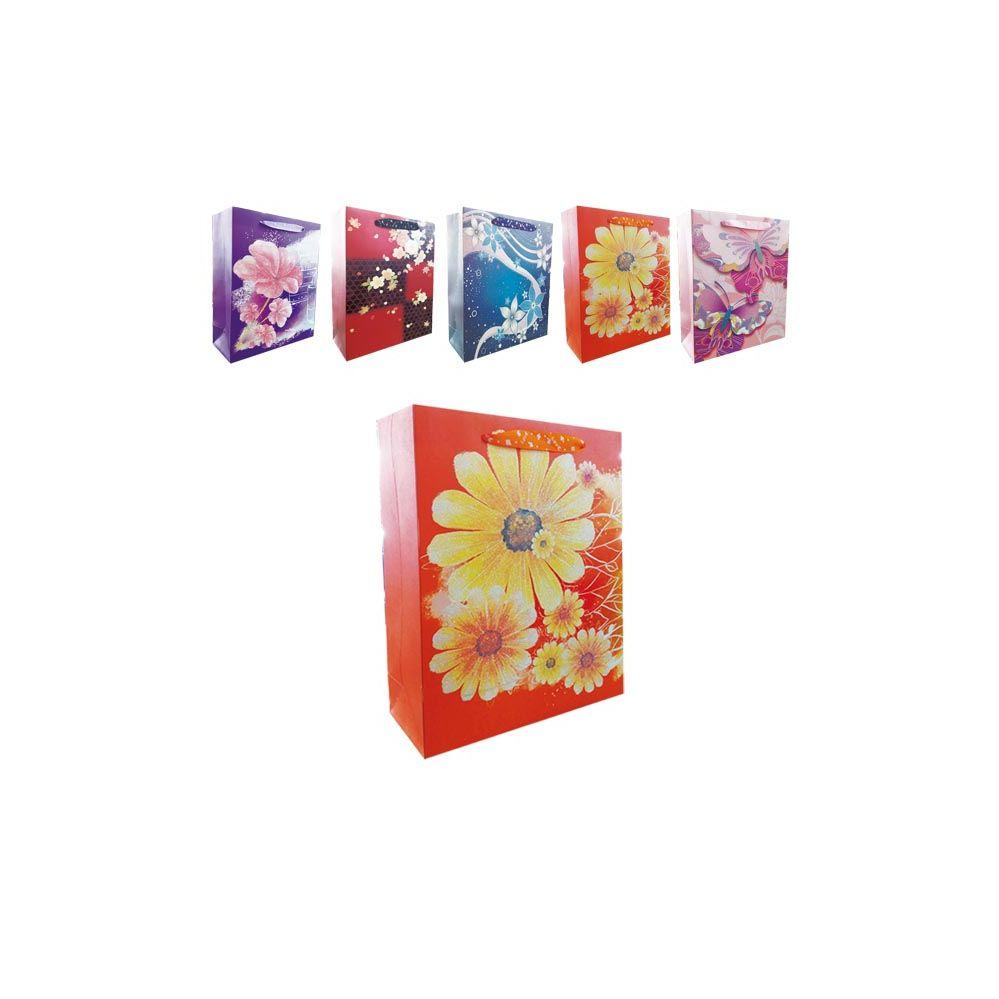 """72 Units of 3D Gift bag 10.5x4.5x13.5""""/L"""