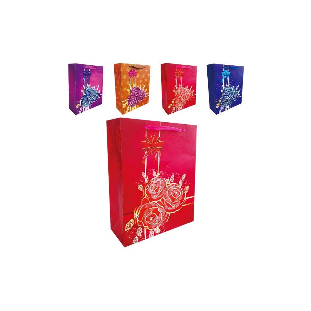 """144 Units of 3D Gift bag 12x5x16.5""""/XL"""