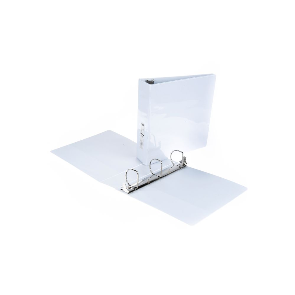 36 units of 2 inch view binder with inner pockets white clipboards