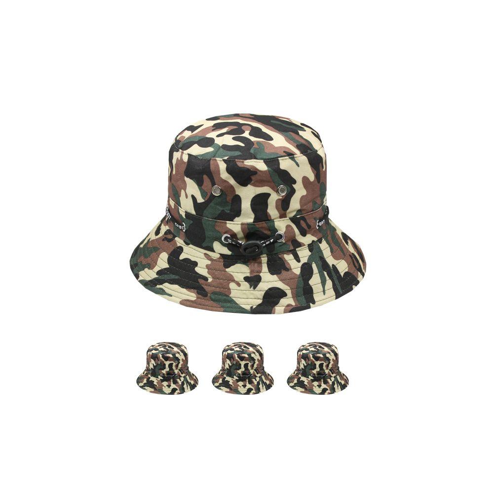 fa1b7352b00 72 Units of KIDS CAMOUFLAGE SUMMER HAT - Bucket Hats - at -  alltimetrading.com