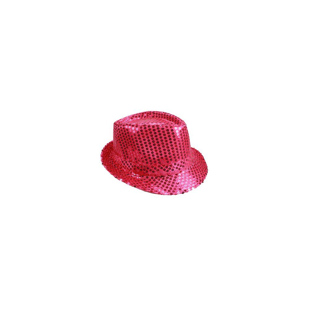 f7d7fc167ab1c 72 Units of KIDS PINK SEQUIN FEDORA HAT - Fedoras