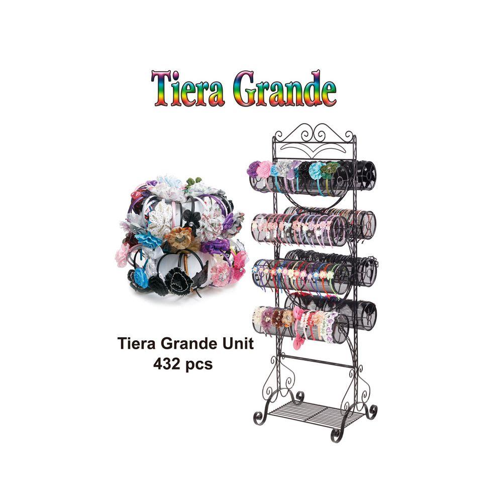 432 Units of TIERA GRANDE - Hair Accessories