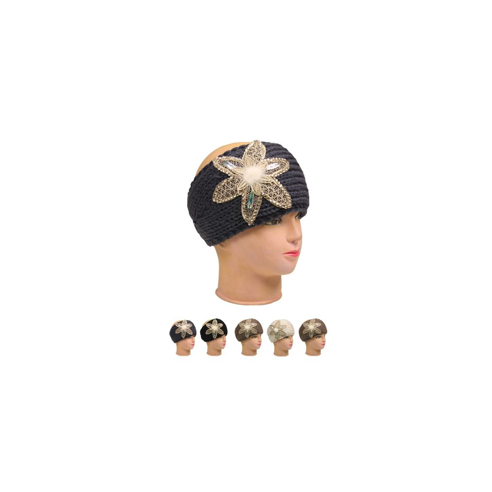 36 Units of WOMAN WINTER HAT 006 KNITTED ASST