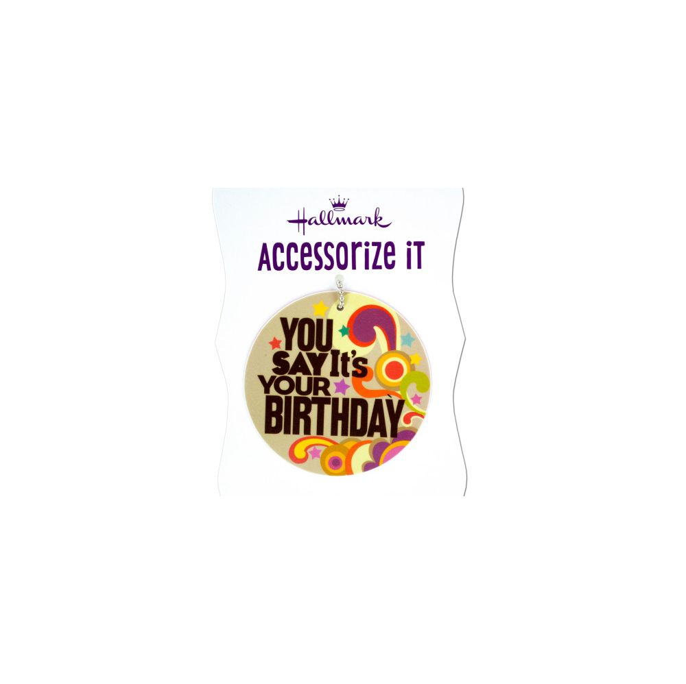 108 Units Of You Say Its Your Birthday Gift Trim Tag