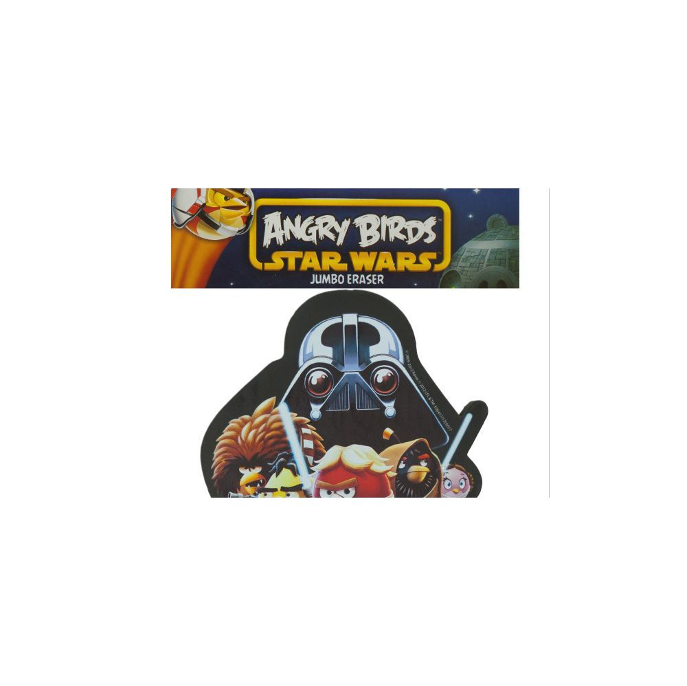 108 Units of Angry Birds Star Wars Jumbo Eraser - ERASERS