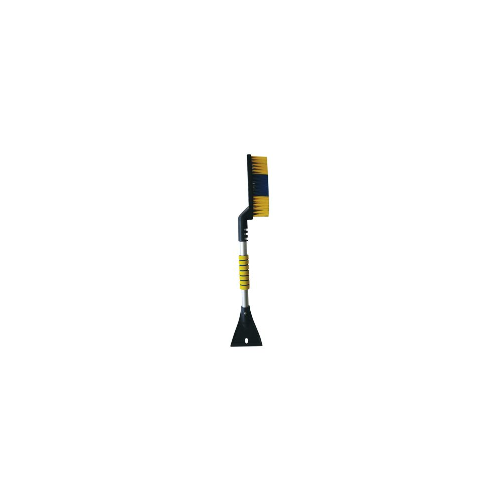 12 Units of SNOW BRUSH WITH ICE SCRAPER 25 INCH