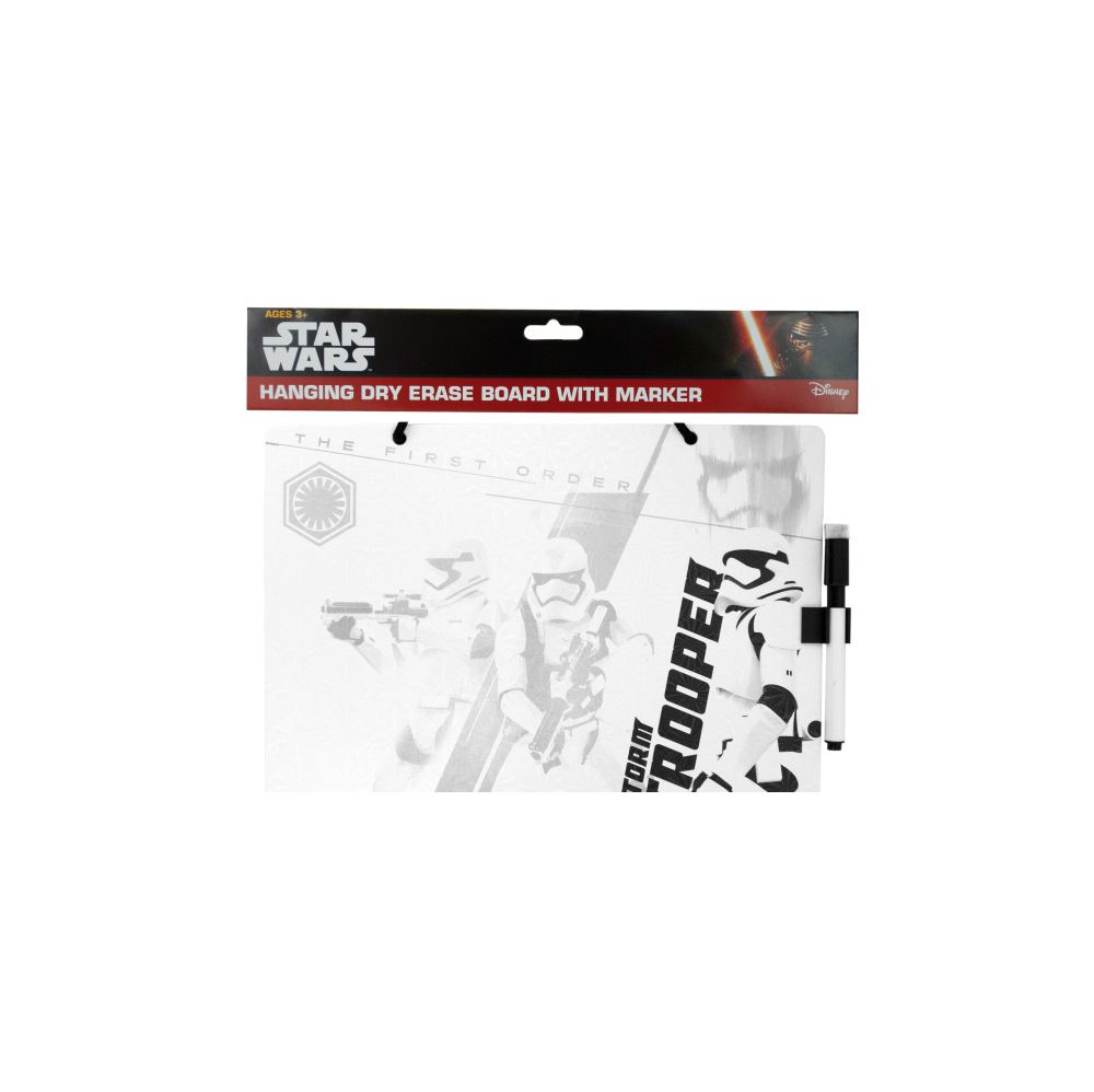 72 Units of Stars Wars Dry Erase Board with Marker - Markers and Highlighters