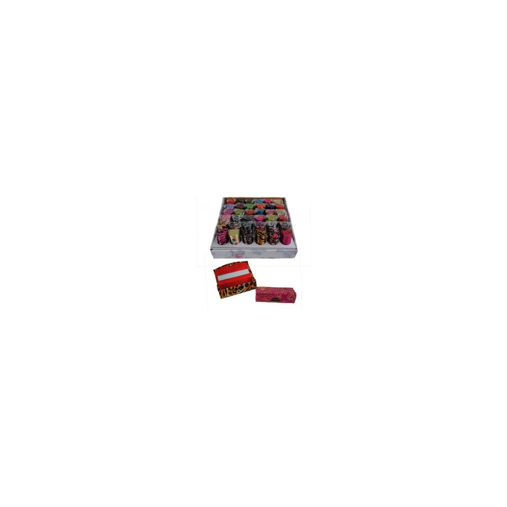 360 Units of Lipstick Cases in a Counter Box - Cosmetic Cases