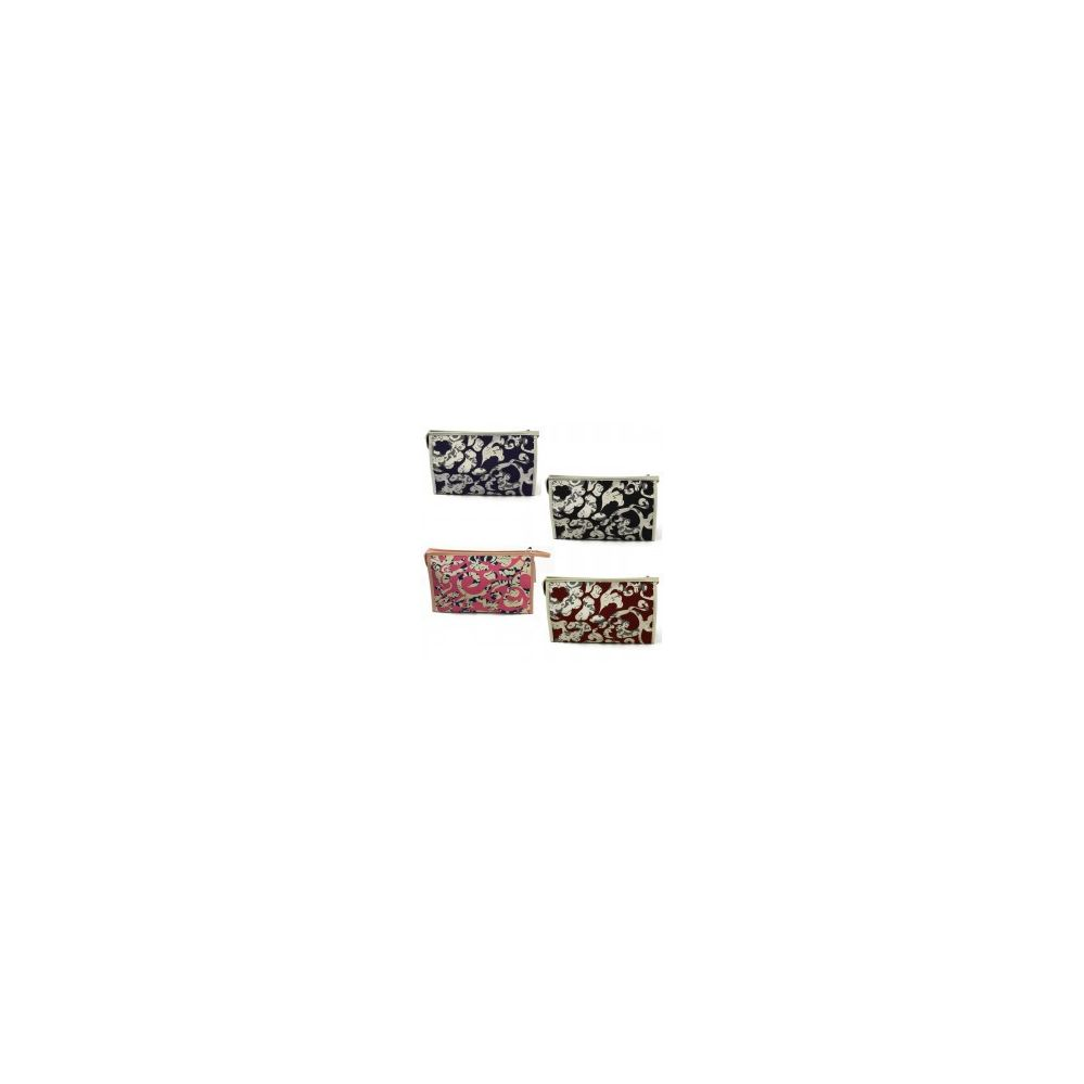 60 Units of Cosmetic Make Up Bag in an Artistic Print