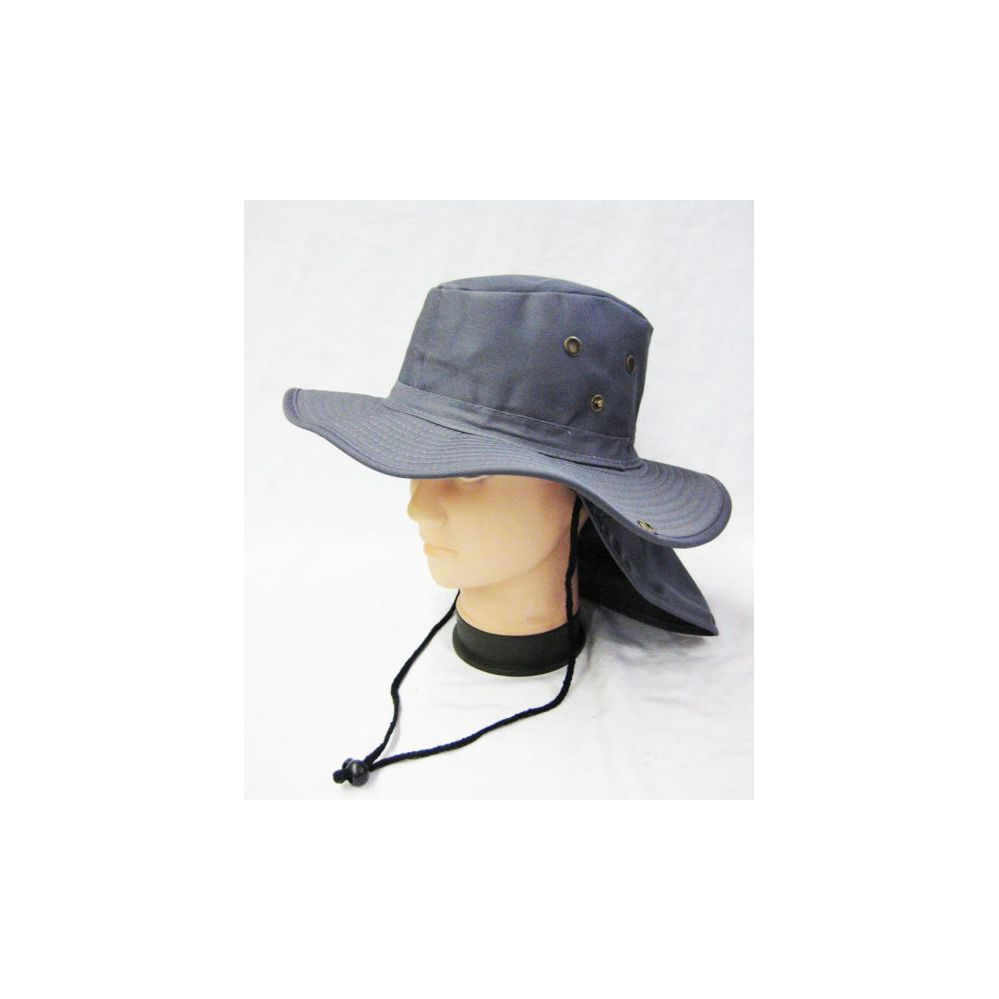 282d9256 24 Units of Mens Boonie / Hiking Hat in Gray - Cowboy & Boonie Hat - at -  alltimetrading.com