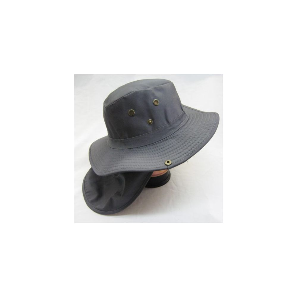 7d7afb73536828 24 Units of Mens Mesh Boonie / Hiking Hat in Gray - Bucket Hats - at -  alltimetrading.com