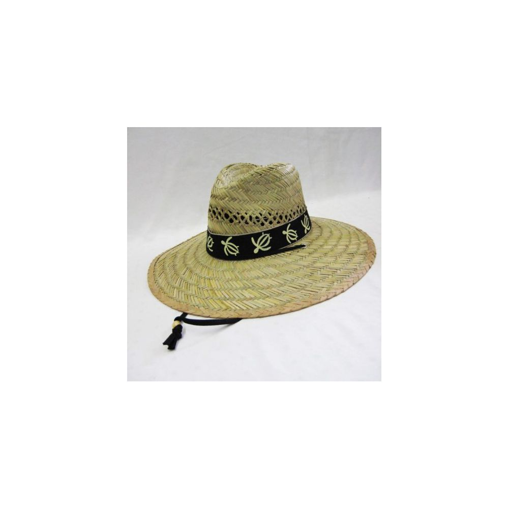 f94a5f1ed3b 24 Units of Mens Straw Hat in Beige with Turtle Trim - Bucket Hats - at -  alltimetrading.com