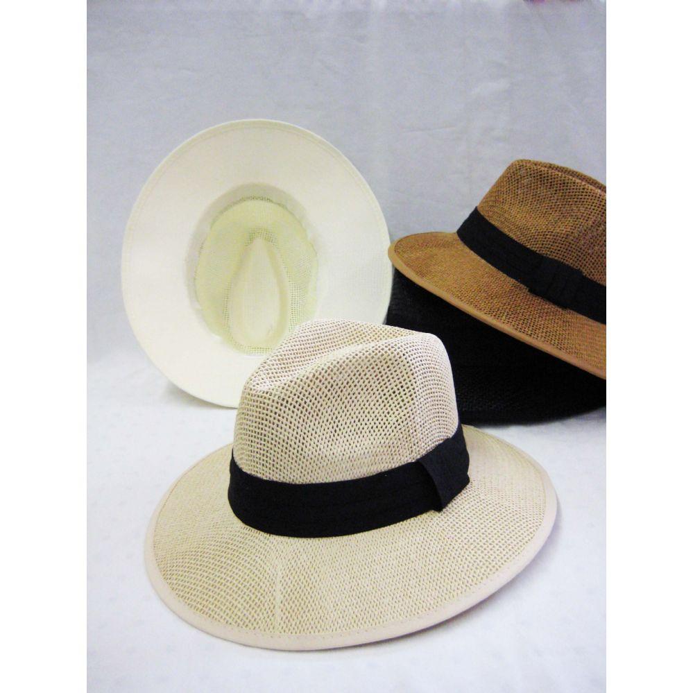 43ae0fe34a0 24 Units of Mens Hat in Assorted Neutral Colors - Bucket Hats - at -  alltimetrading.com