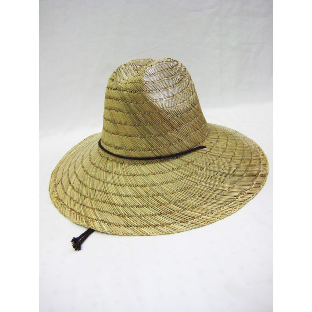 aaa9f8e9e04 24 Units of Mens Straw Hat in Beige - Bucket Hats - at - alltimetrading.com