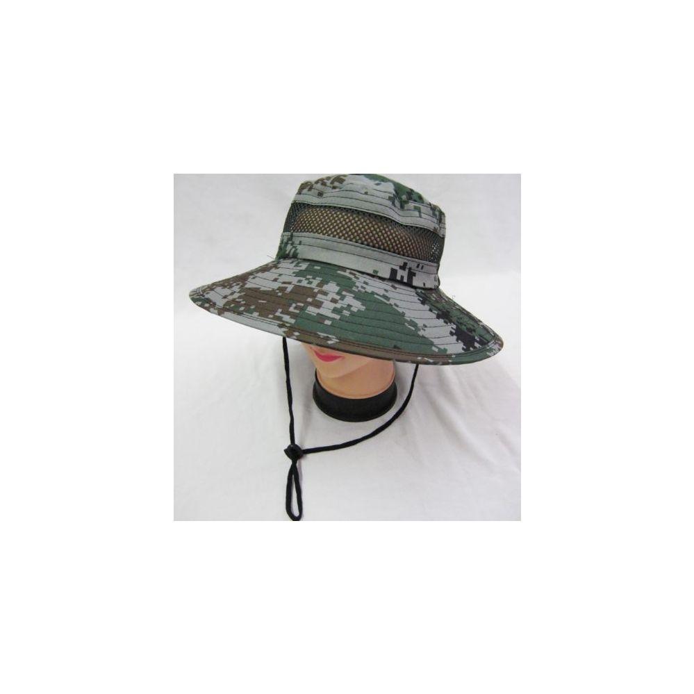 a890ad4c3971 24 Units of Mens Boonie / Hiking Cap Hat in Digital Green - Bucket Hats - at  - alltimetrading.com