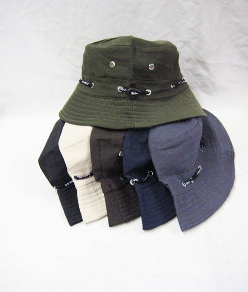 a5247f86049f 24 Units of Mens Bucket Hat in Assorted Colors - Bucket Hats - at -  alltimetrading.com