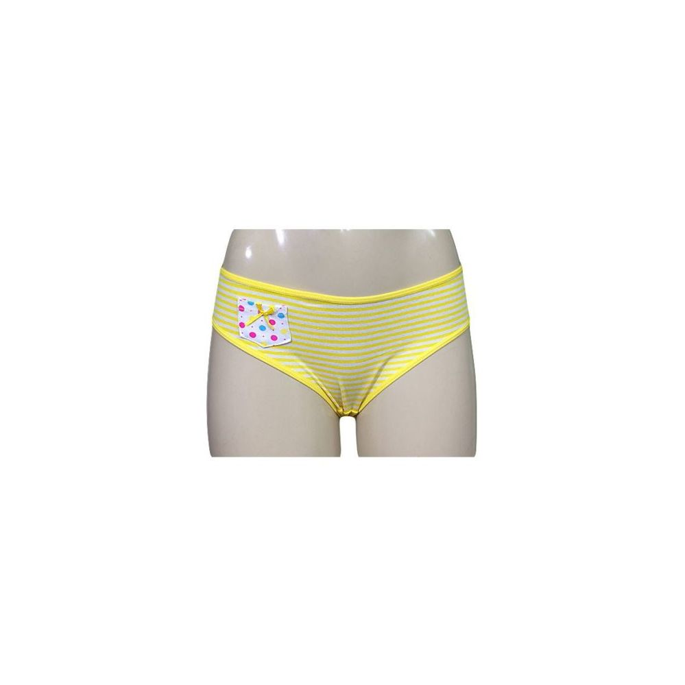 60 Units of Grace Striped Bikini with Pocket - Womens Panties / Underwear