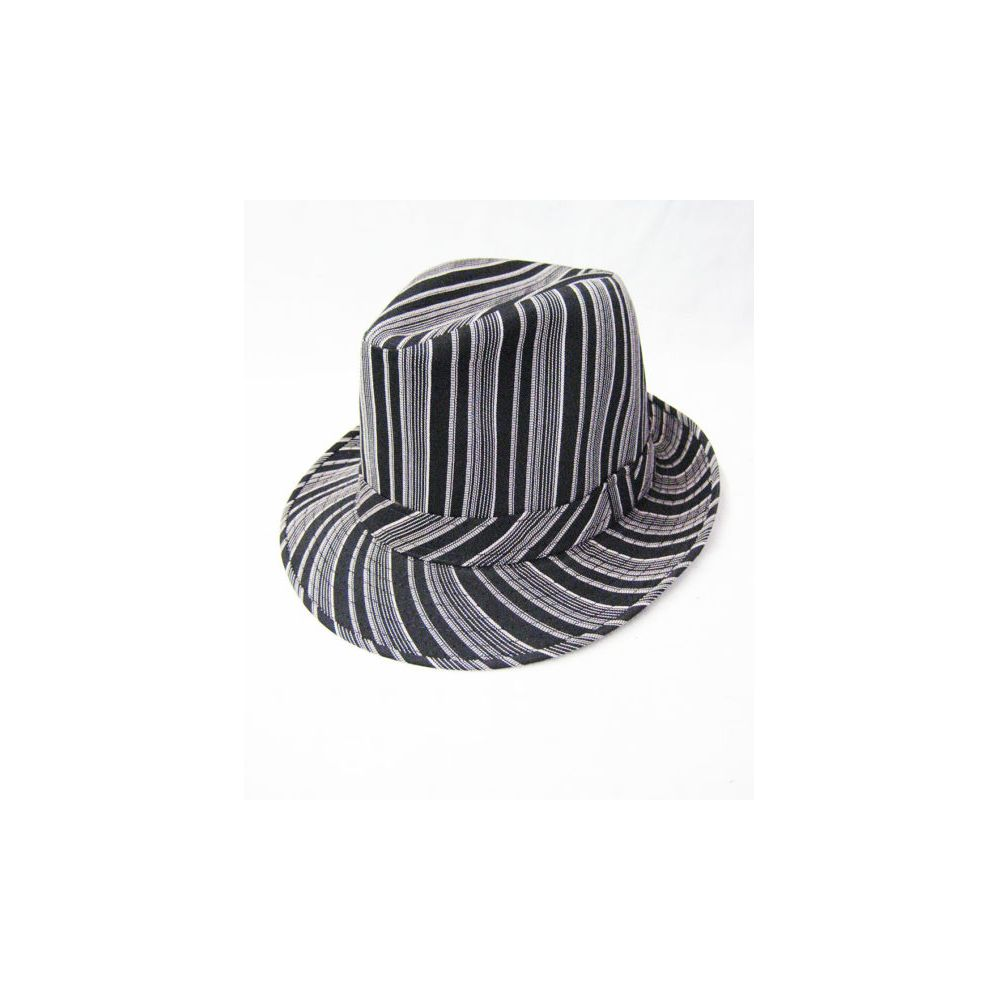 5e441dbbf 36 Units of Pinstripe Fedora Hat - Fedoras, Driver Caps & Visor