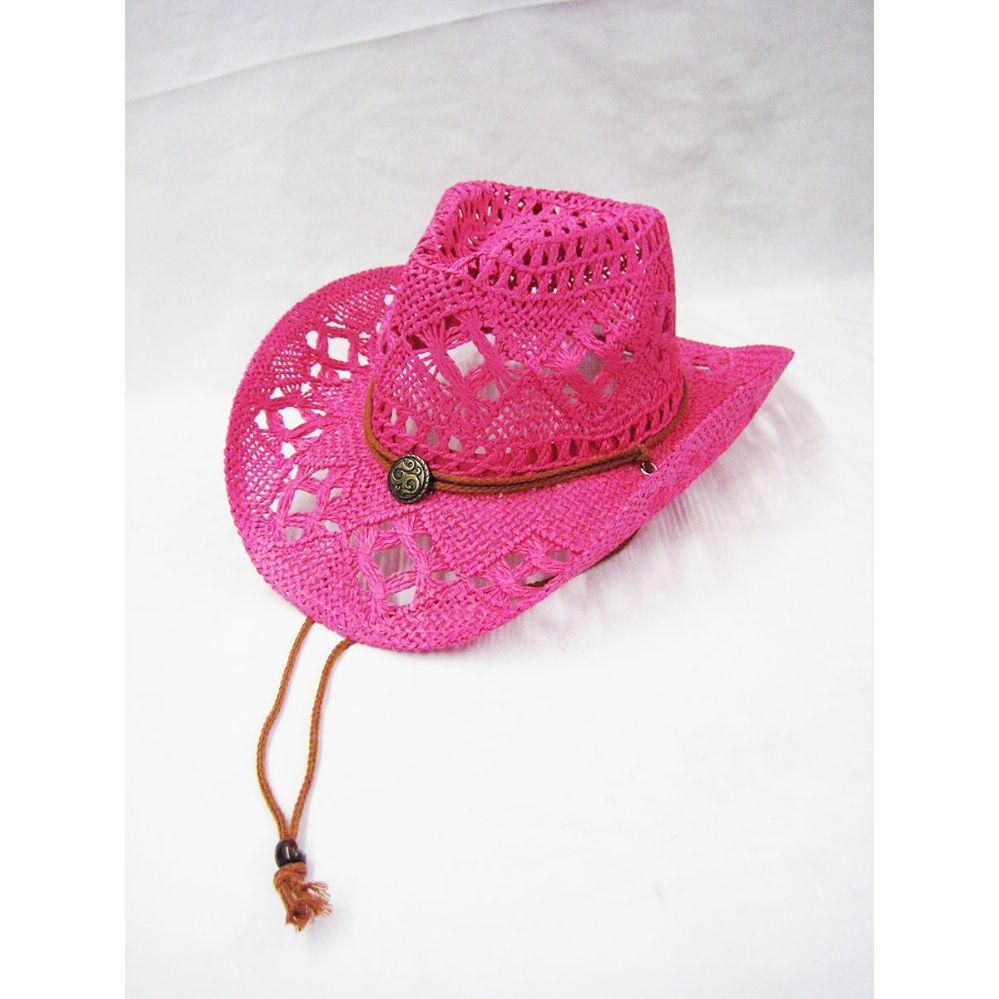 24 Units of Ladies Cowboy Pink Hat - Cowboy   Boonie Hat - at -  alltimetrading.com 85b0023ed99