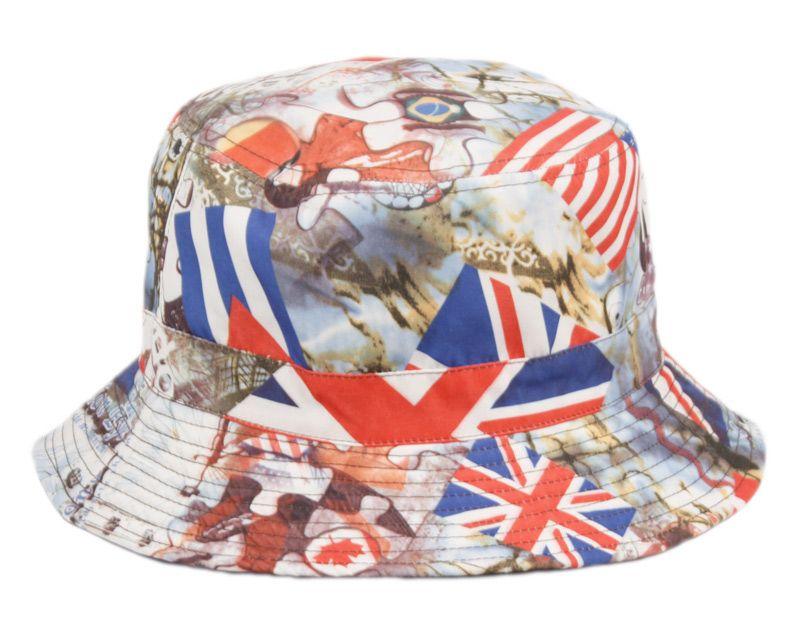 e4361b95a62aa9 18 Units of MULTI FLAG REVERSIBLE BUCKET HATS - Bucket Hats - at -  alltimetrading.com