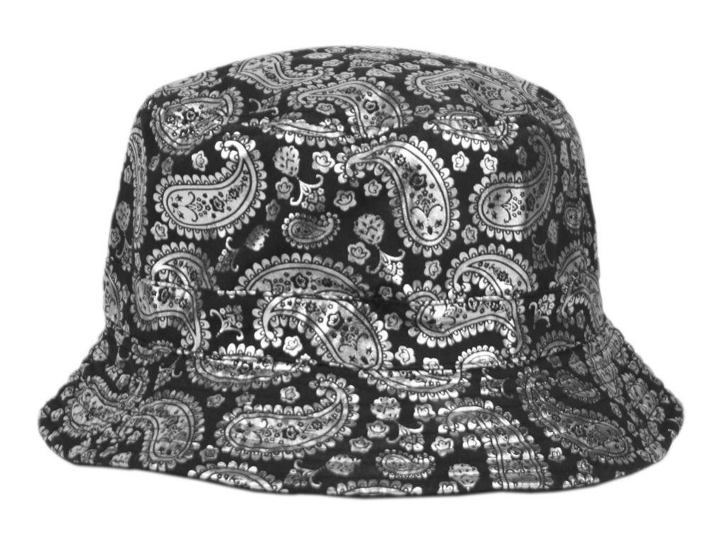 a51bf69ff42 24 Units of PAISLEY PRINT REVERSIBLE BUCKET HATS - Bucket Hats - at -  alltimetrading.com