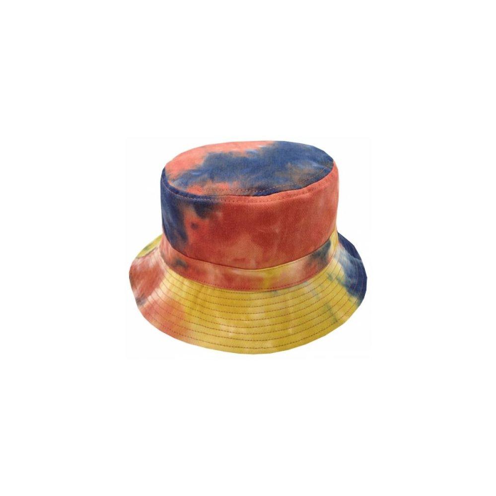 59deecc7cf8fae 24 Units of TIE DYE PRINT REVERSIBLE BUCKET HATS IN RUST - Bucket Hats - at  - alltimetrading.com
