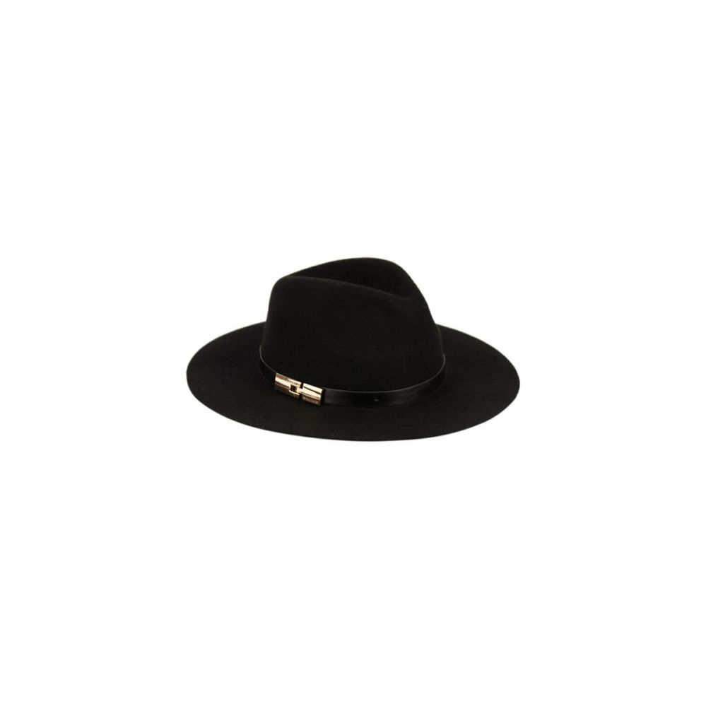 e3c466f9e069e 12 Units of LADIES WIDE BRIM FELT FEDORA W PU BAND AND BUCKLE - Fedoras