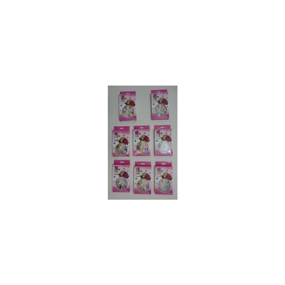 120 Units of Nail Gem Kit [Glue-Sticks-Emery Board] - Nail Care - at ...