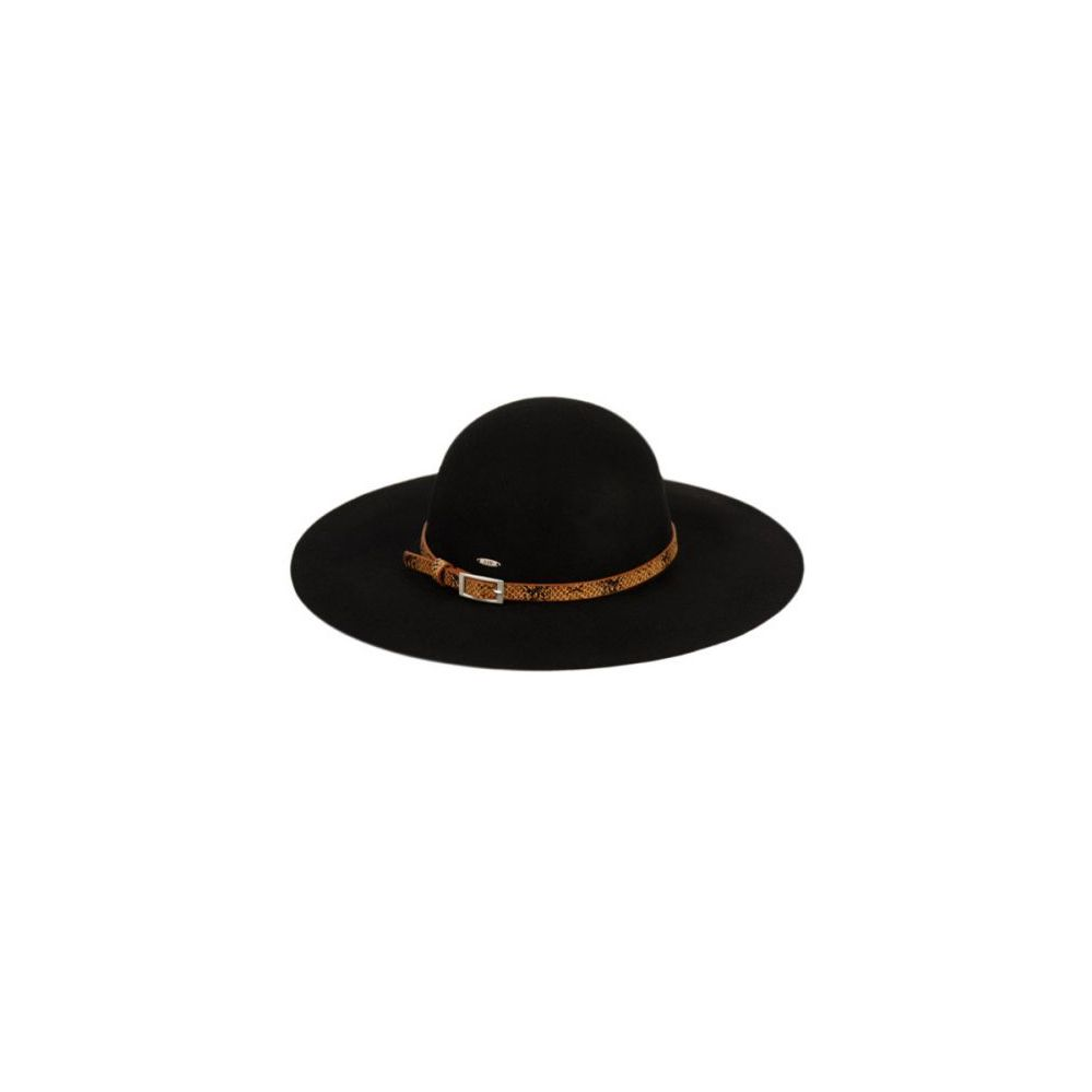 fd450d61858f5 12 Units of LADIES WIDE BRIM FELT FLOPPY W SNAKESKIN PU BAND - Sun Hats -  at - alltimetrading.com