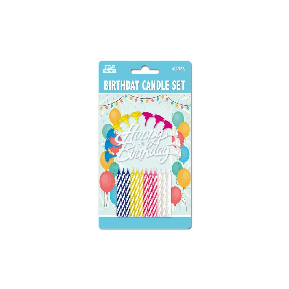 144 Units Of Birthday Candle Set