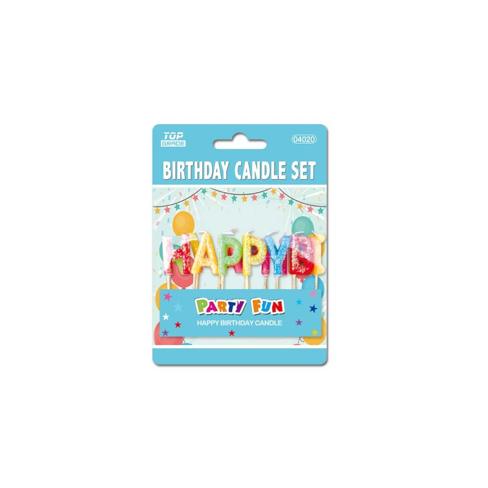 144 Units Of Birthday Candle Letters