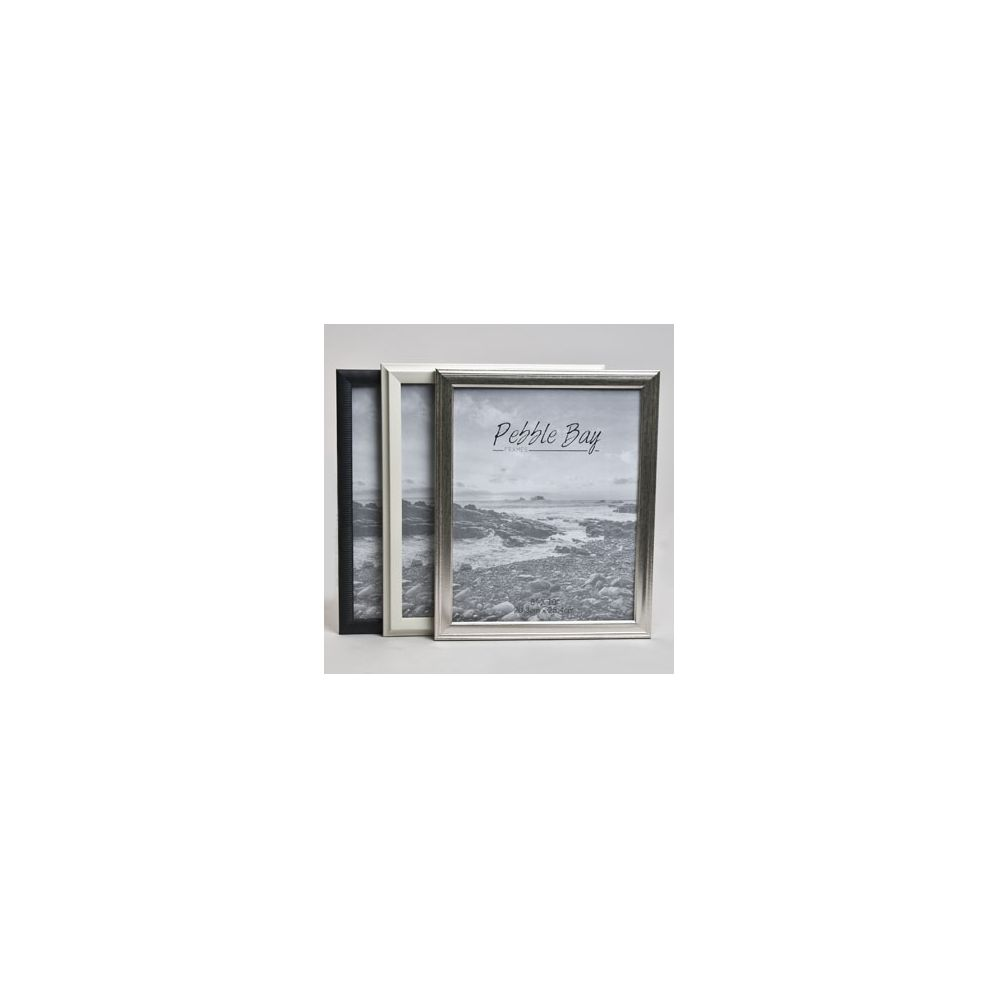 240 Units of Photo Frame 8x10 3ast Clrs/styls Plastic In 12pc Pdq ...