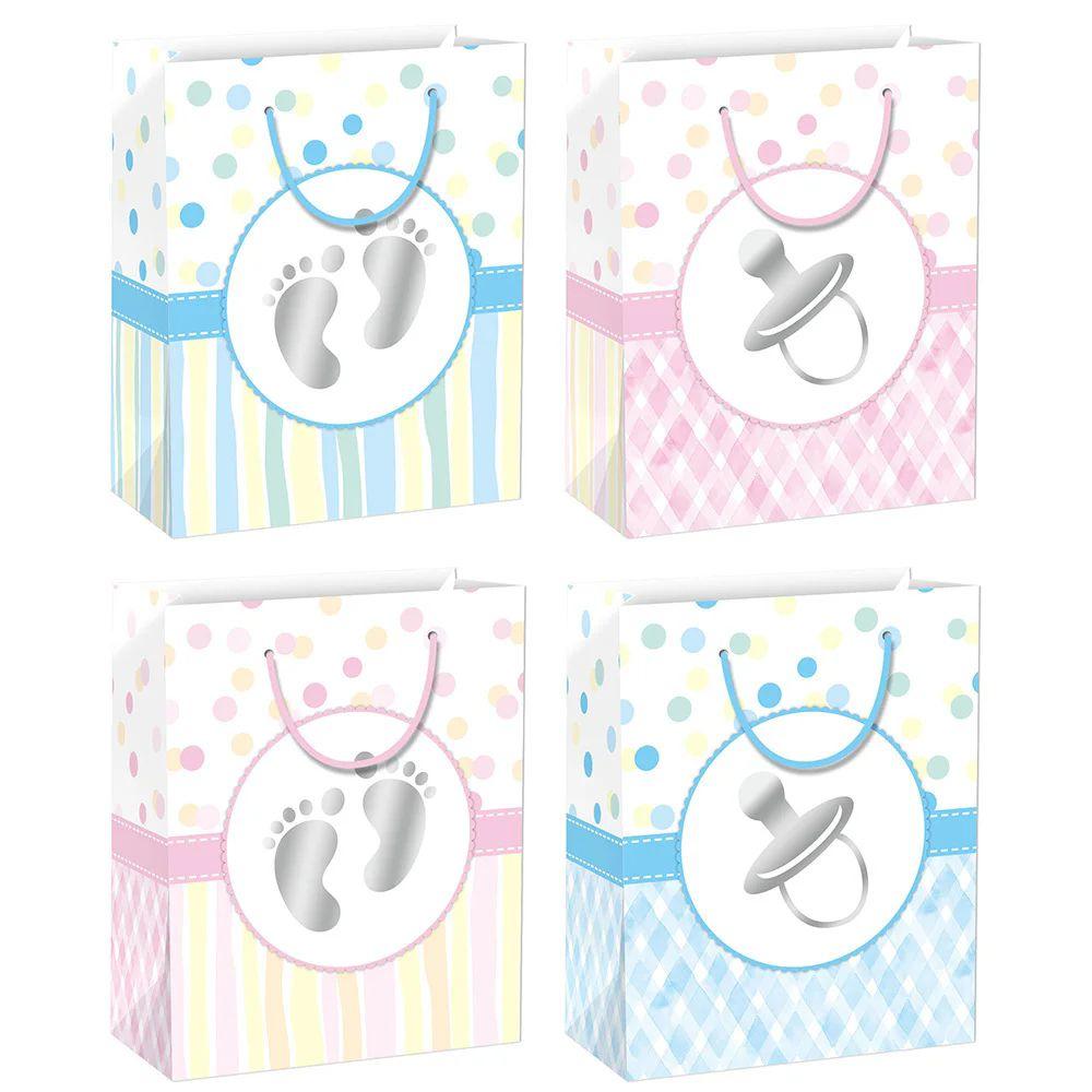 "72 Units of Baby bag GLT 13x18x5.5""/XL - Gift Bags"