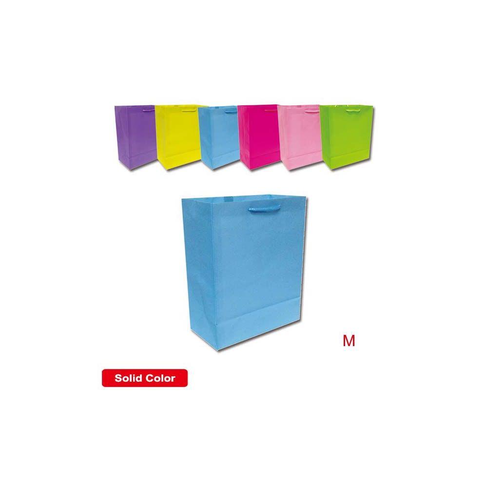 """144 Units of Bag solid color 7.5x9x4""""/ Medium"""